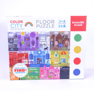 Can You Find Puzzle Color City
