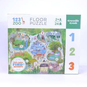 Can You Find Puzzle - 123 Zoo
