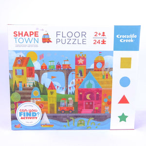 Can You Find Puzzle Shape Town