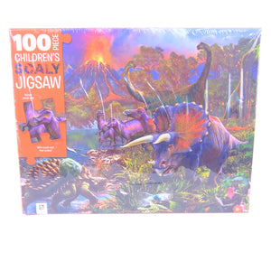 100pce Childrens Scaly Jigsaw