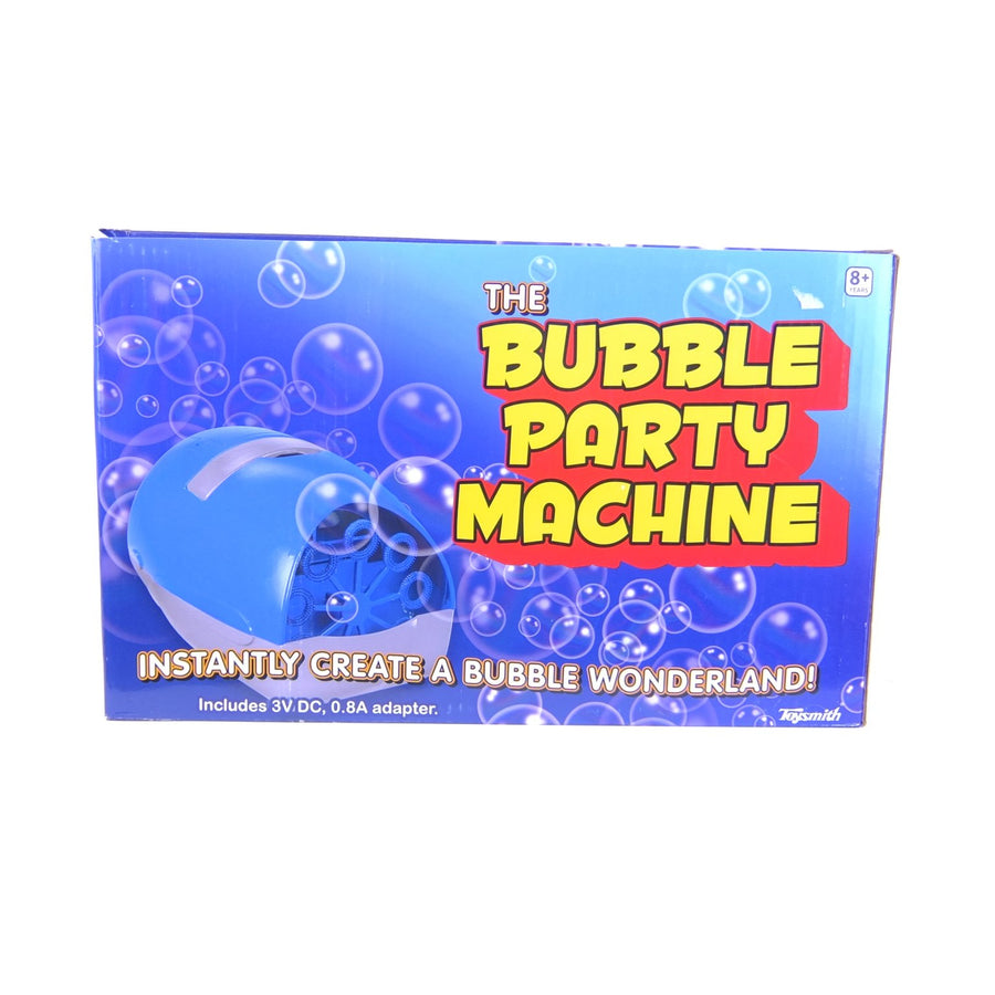 Bubble Machine Party