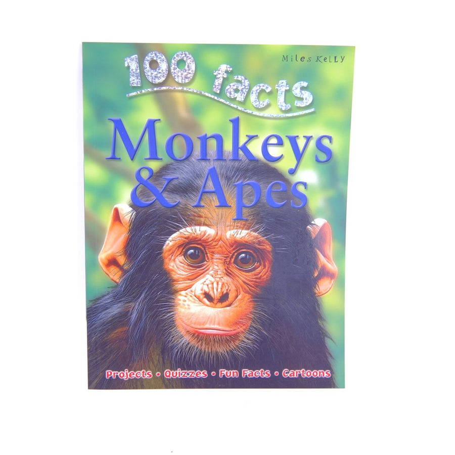 100 Facts Monkeys & Apes