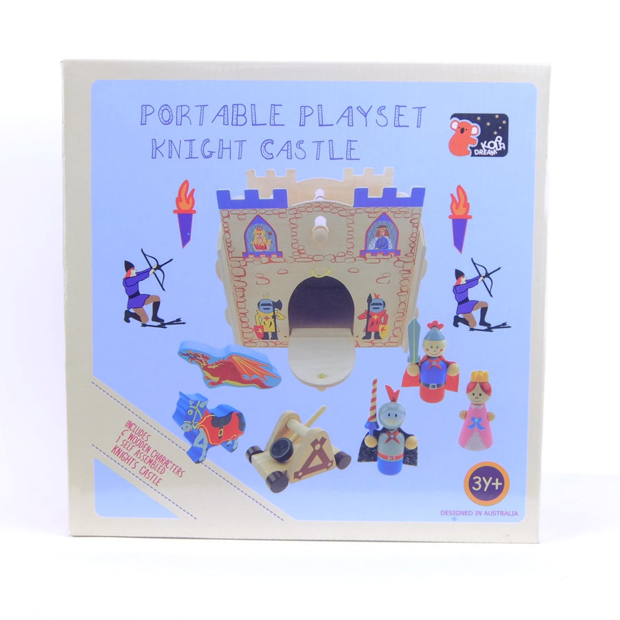 Portable Playset Knight Castle