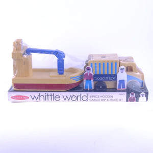 Cargo Ship and Truck Set