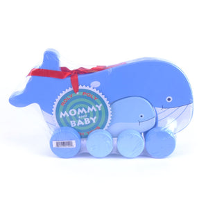 Mommy & Baby Push Toy Whale