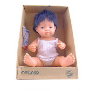 Baby Doll - Asian Boy 38cm