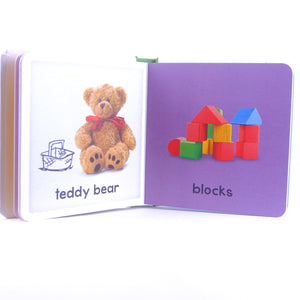 Baby's First Toys Book