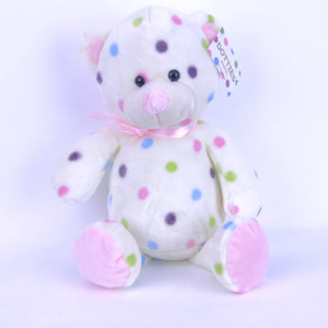 Bear Pink With Dots 25cm