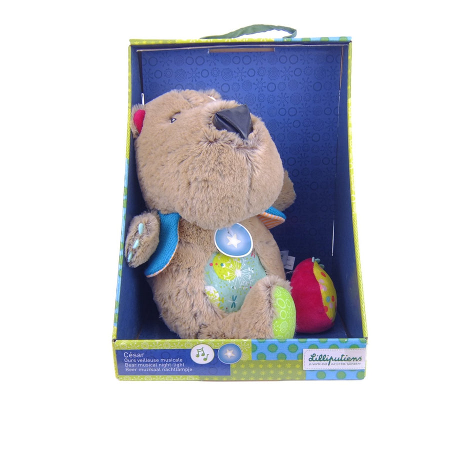 Cesar Bear Musical Night Light