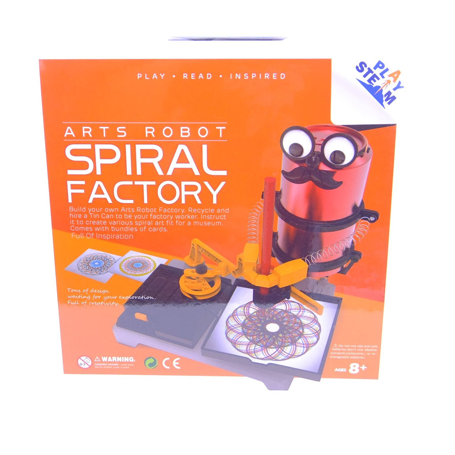 Arts Robot Spiral Factory