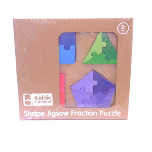 Shape Jigsaw Fraction Puzzle