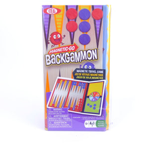 Magnetic-Go Backgammon