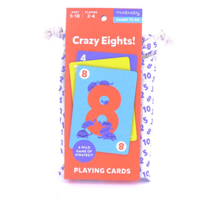 Mudpuppy Crazy Eight Card Game
