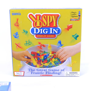 I Spy Dig In Find It Game