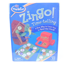 ThinkFun Zingo Time-Telling