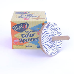 Wooden Color Spinner
