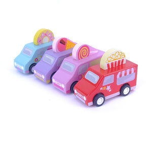 Sweets Treats Pull Back Cars