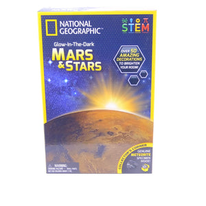 Glow In The Dark Mars & Stars