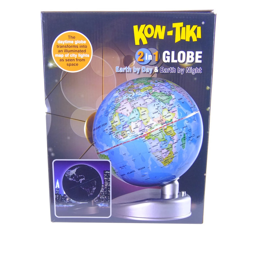 Kon-Tiki 2n1 Globe Earth
