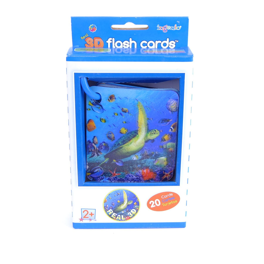 Flash Cards 3D Ocean Animal