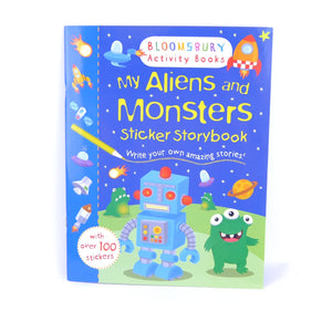 My Aliens And Monsters Activit
