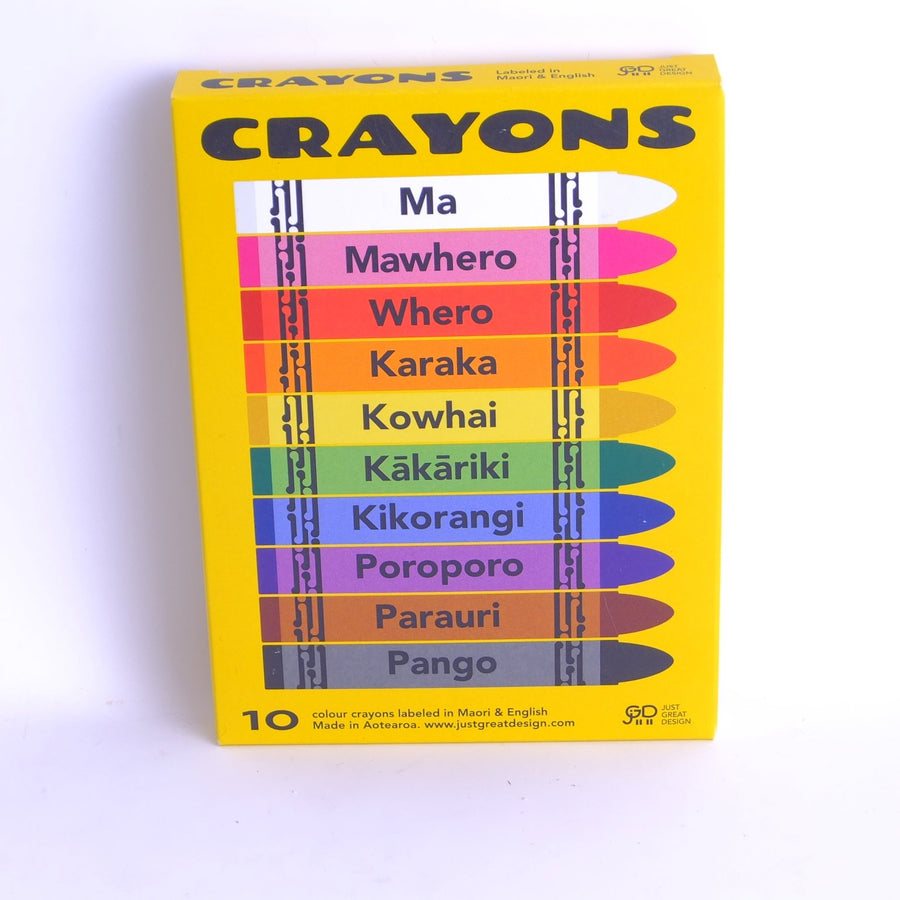 10 Pack Crayons