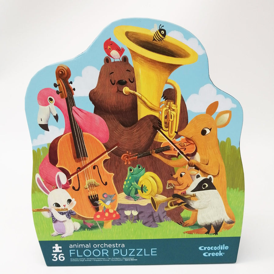 Croc Creek Animal Puzzle