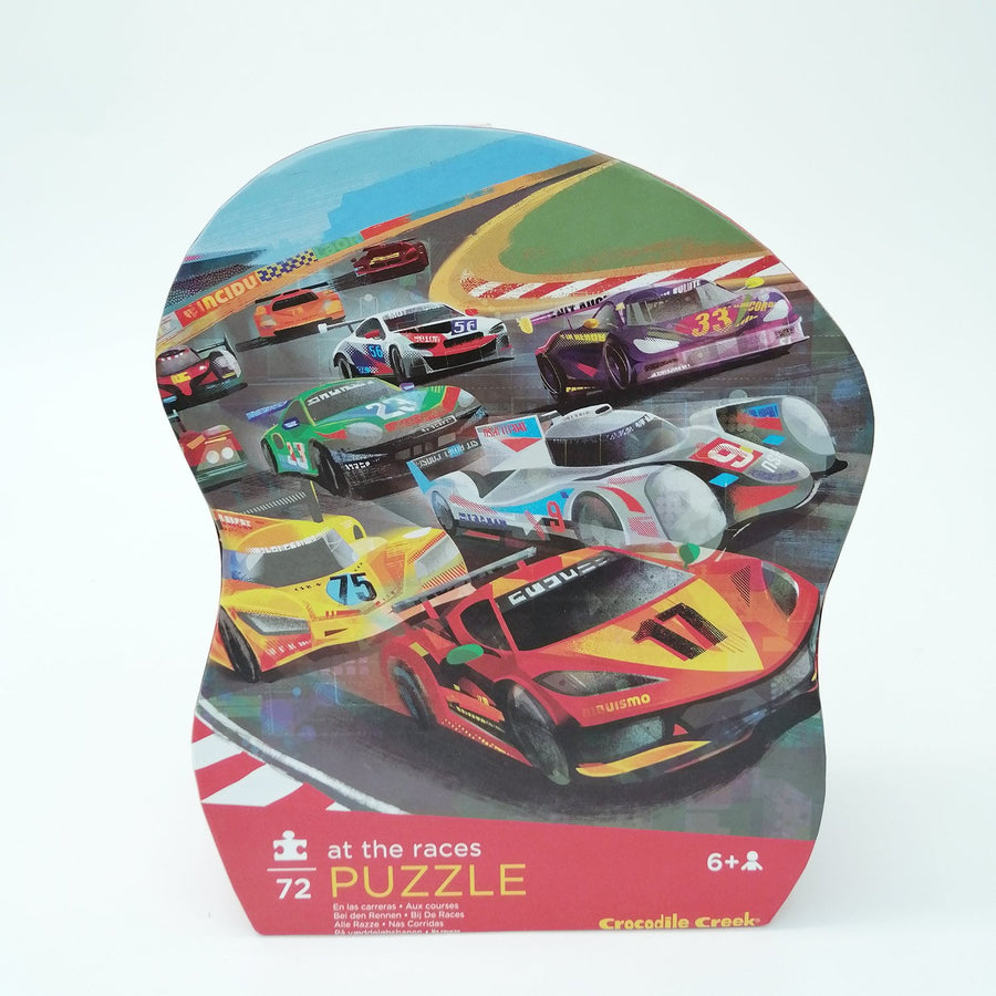 Croc Creek Race Car Puzzle