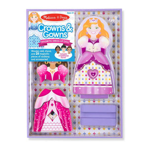 Dress Up Dolls Crowns & Gowns