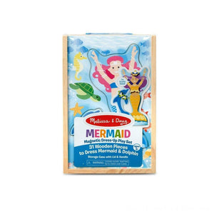 Melissa & Doug Mermaid Magnetic Dress Up