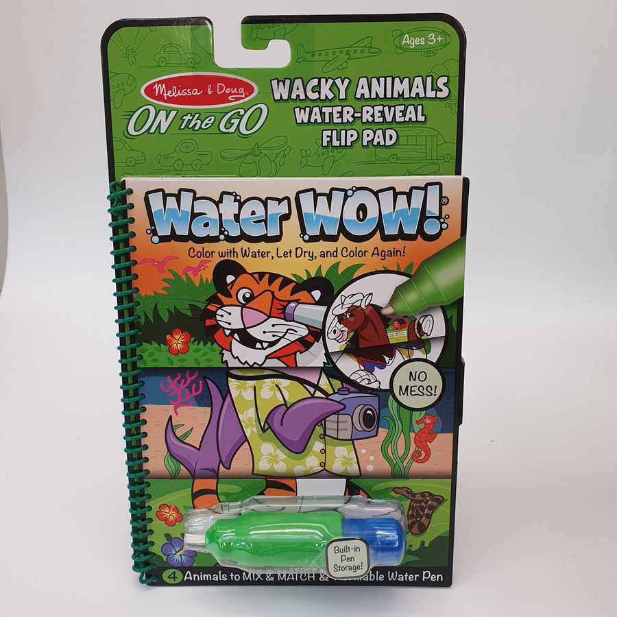 Water Reveal Pad Wacky Animals