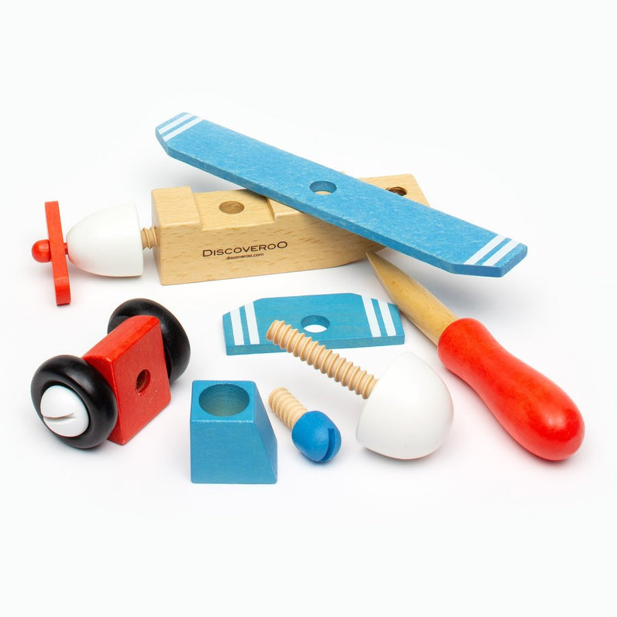 Discoveroo Build A Plane Set