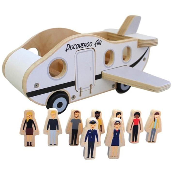 Discoveroo Plane Play Set