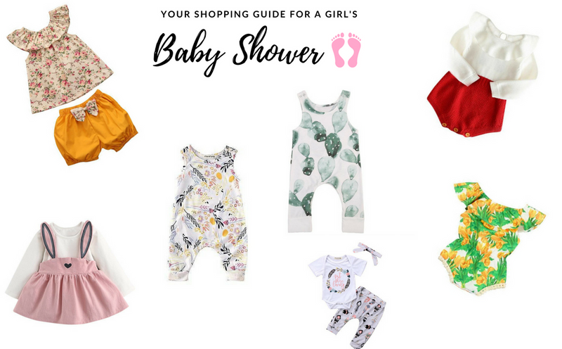 7 Cute Baby Shower Gift Outfits For Girls