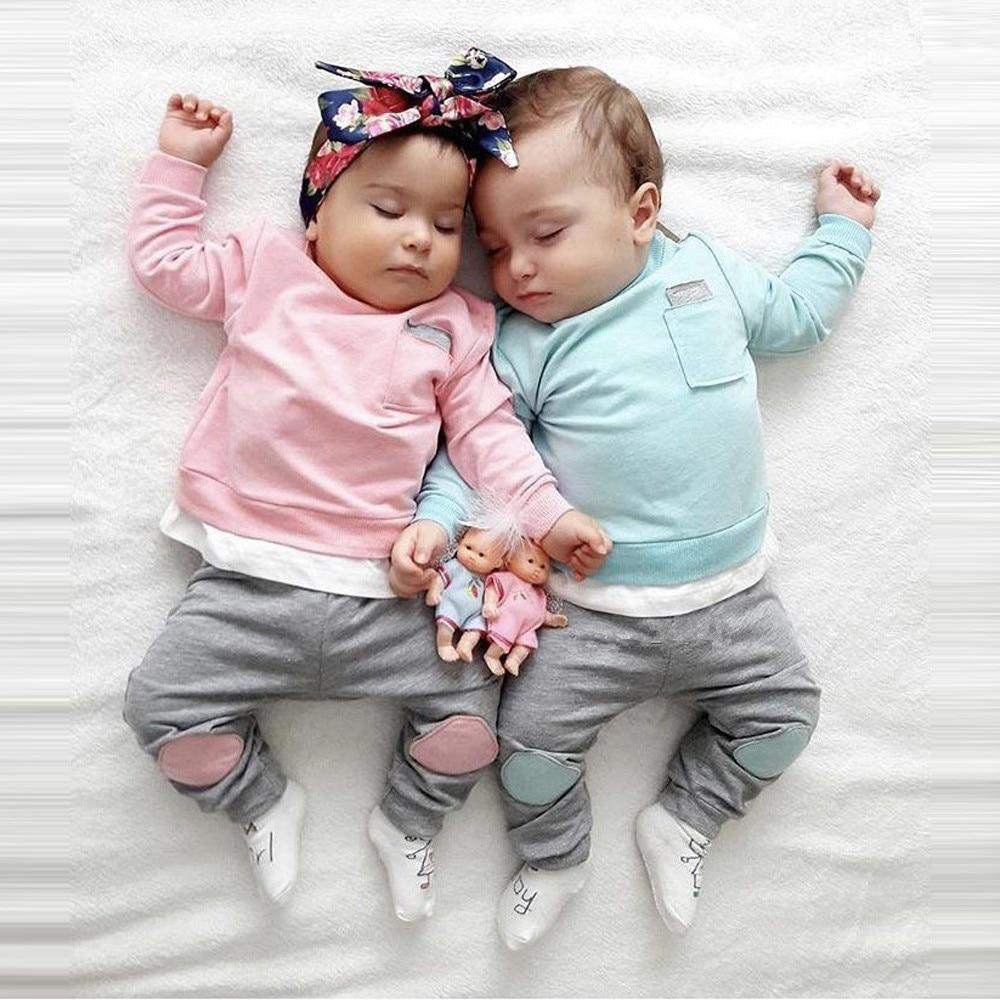 2-Pcs Sibling Matching Outfits For Baby & Toddler