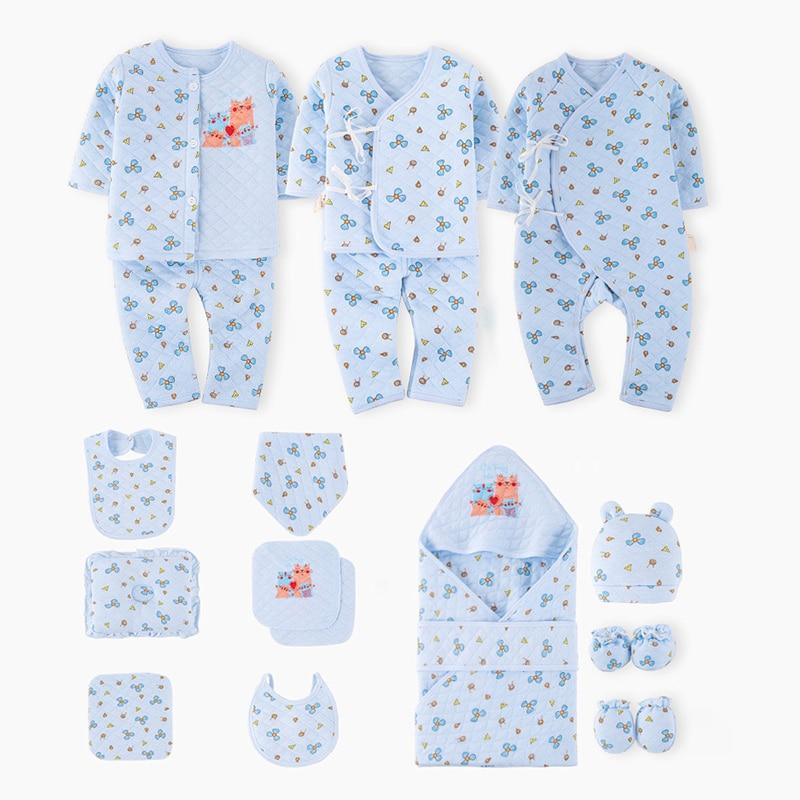 Baby Boy 17-Piece Newborn Take Me Home Gift Set