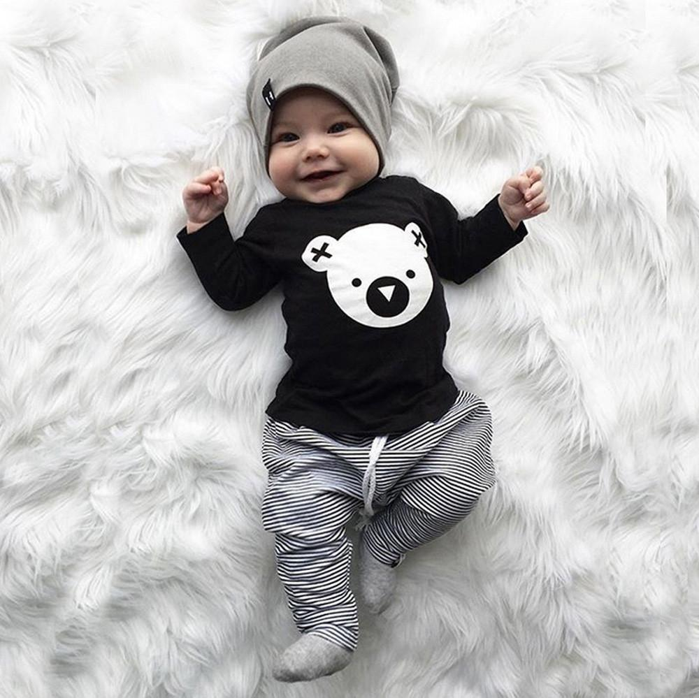 Baby Boy's Koala Long Sleeve Shirt & Pants Set