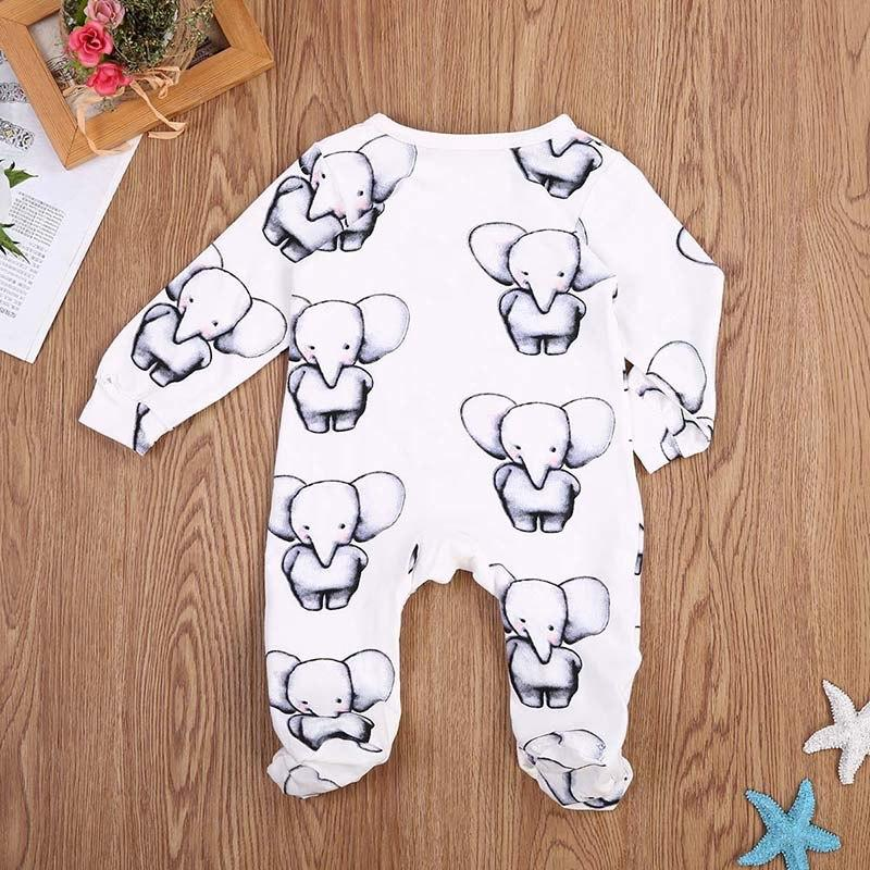 Baby Elephants Cotton Sleep & Play