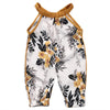 Baby Girl Sleeveless Floral Romper, 3M-3T