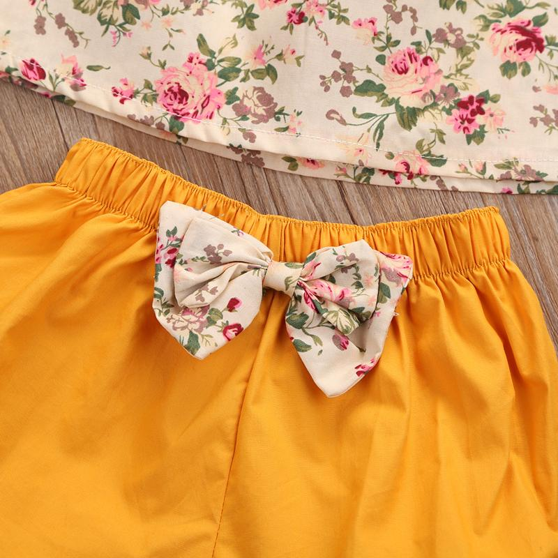 Cute Baby Girl Bloomers With Bow Tie