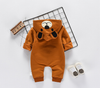 Fall  Winter 2018 Warm Hooded Romper For Baby 6M-24M
