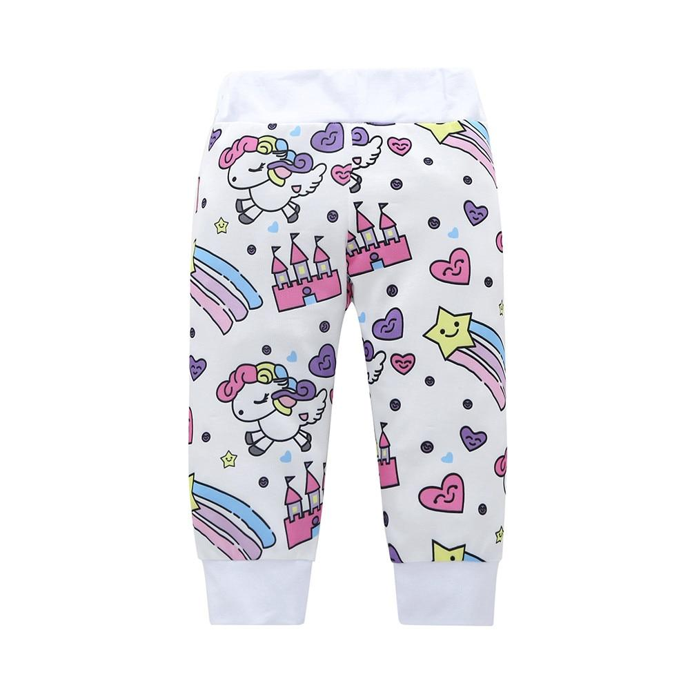 Girls' Adorable Unicorn Clothing Set With Long Sleeve Shirt