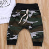 Mama's Baby Boy 3-Pcs Outfit Set With Hat, Camo Print