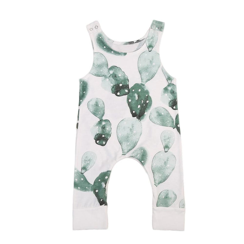 Sleeveless Cactus Jumpsuit For Baby, Infant & Toddler