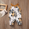 Sleeveless Floral Romper for baby girl