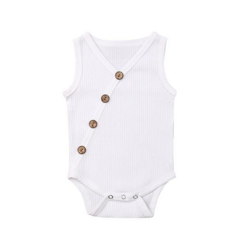Sleeveless Kimono Bodysuit For Baby & Toddler