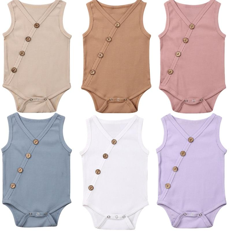 Sleeveless Bodysuit For Baby & Toddler