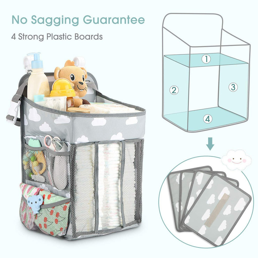 Changing Table Hanging Storage Bag