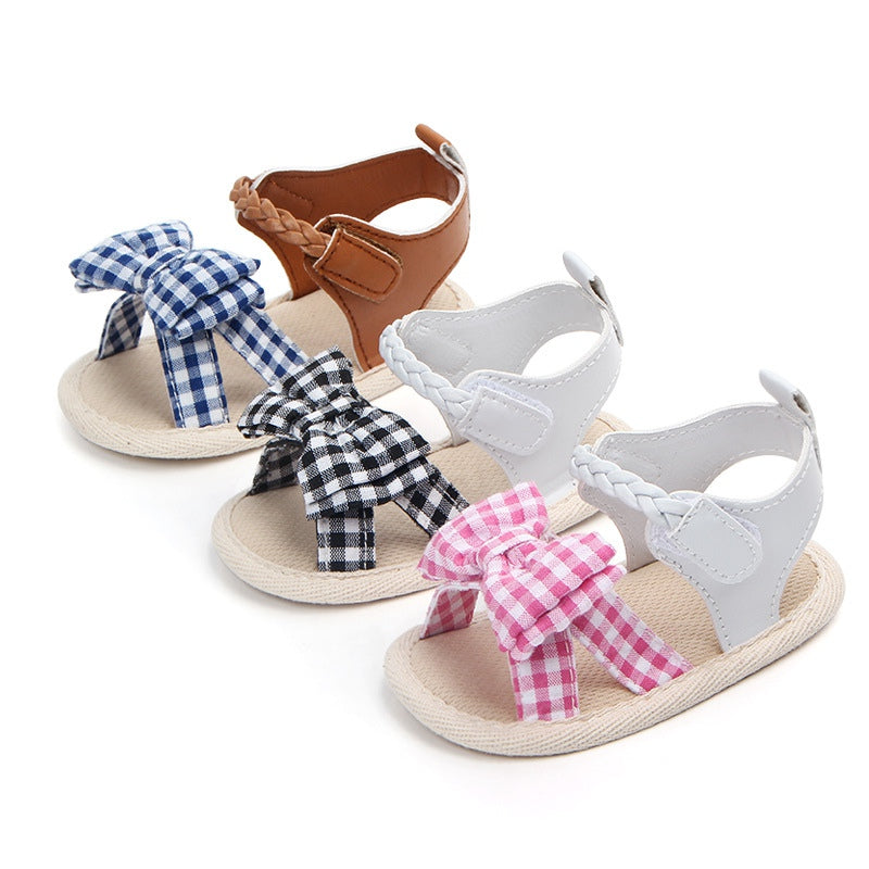 Soft Bow-tie Non-Slip Bottom Sandals
