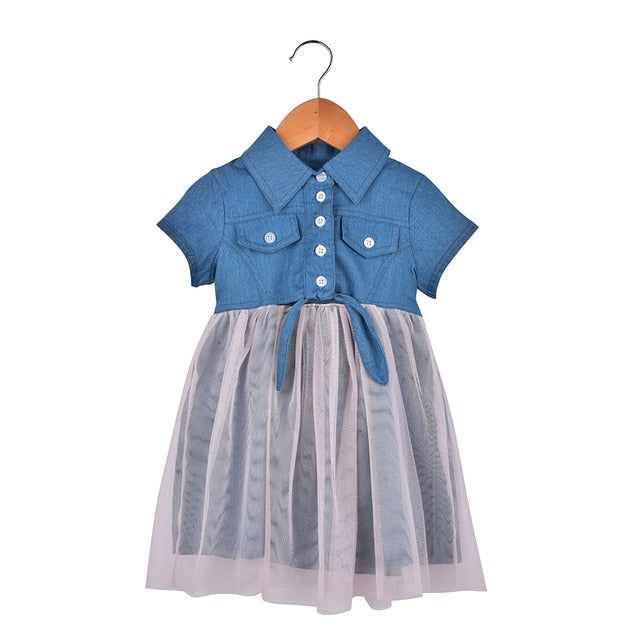 Summer Baby Girl's Denim Sundress